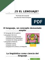 Qué Es El Lenguaje