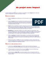 Exemple de Projet Avec Impact