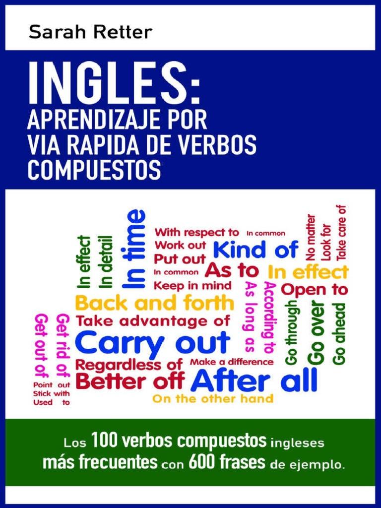 Inglés Aprendizaje Por Vía Rápida De Verbos Compuestos ...  @tataya.com.mx