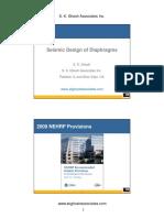 BSSC Webinar-NEHRP Diaphragm