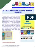 La Maquina Increible 4 en Español