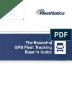 GPS Fleet Tracking Buyers Guide