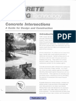 Concrete Paving Technology - Concrete Intersections - A Guide for Design and Construcction