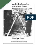 FRYES - Algumas Reflexões Sobre Separatismo e Poder
