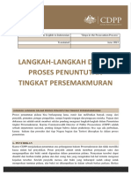 INDONESIAN Steps in the Prosecution Process