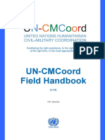 United Nations Humanitarian Civil-Military Coordination - Field Handbook v1 - 2015
