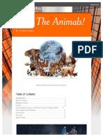 save the animals    smore