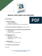 Manual Papeleria