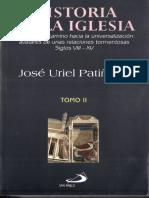 Uriel Patiño, José. Historia de la Iglesia. Siglos VIII- XV.pdf