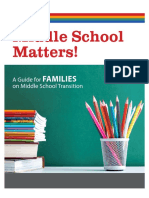 middle school matters handout