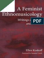 A Feminist Ethnomusicology