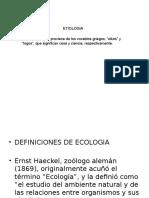 Ecologia - Clase 1