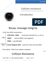 06.1 Collision Resistance Introduction