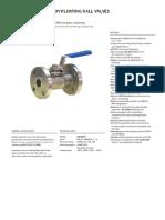 unibody ball valve