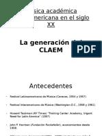 La Generación Del CLAEM