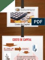Diapos de Costo de Capital