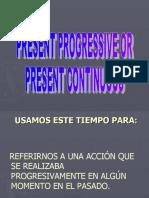 Presentación PASADO PROGRESIVO