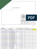 c14023 a Fm-00004 Mdl.001 r0 - Mechanical Doc List