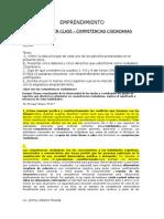 Competencias Ciudadanas- Emprendimiento