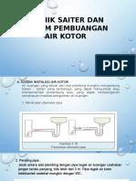 Teknik Saiter Dan Sistem Pembuangan Air Kotor