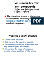 Notes VSEPR (Ch 6)
