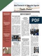 Boletín Informativo Nº 1 del I.P.E.S. Paulo Freire