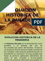 Evolucion Historica de La Panaderia