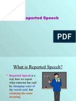 Reported Speech 2