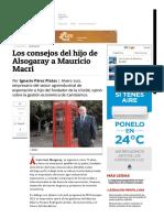 Economia - Alvaro Luis Alsogaray - Entrevista_ Los Consejos Del Hijo de Alsogaray a Mauricio Macri