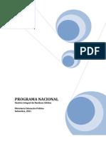 Programa Nacional Manejo Residuos Mep
