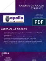 Analysis on Apollo Tyres Ltd (1)