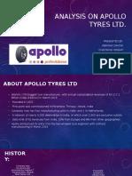 Analysis on Apollo Tyres Ltd (1)