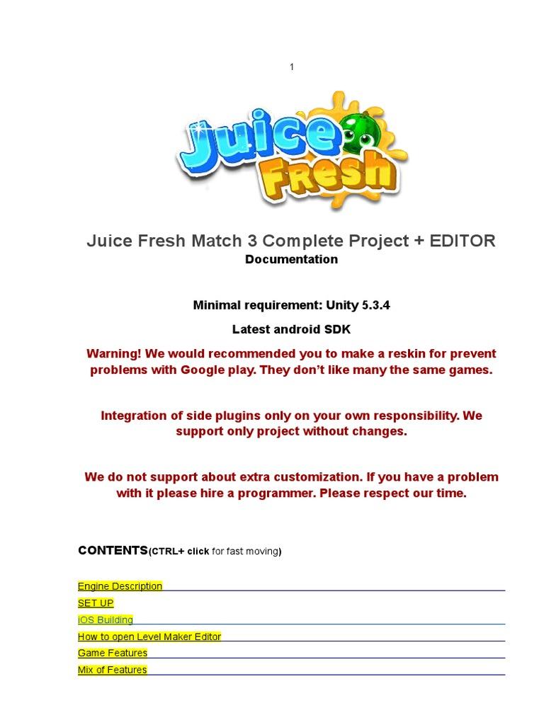 JuiceFreshDocumentation1 2 | Icon (Computing) | Integrated