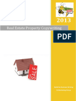 Real Estate Copywriting Packages 20131