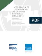 Radiografia de La Innovación en Grandes Empresas Chile 2013