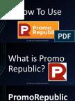 Benjie_Luna_How to Use PromoRepublic Tutorial