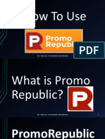 Benjie_Luna_How to Use PromoRepublic Tutorial