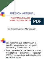 Presion Arterial , Fsiopatologia Hta 2016