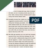 Biografi Dan KArya-karya Iwan Simatupang