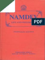 Namdev Life and Philosophy
