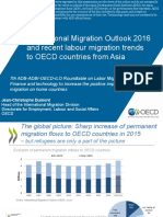 Recent labour migration trends to OECD countries from Asia