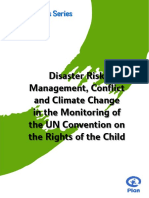 2013 Disaster Risk Management Conflict and Climate Change En