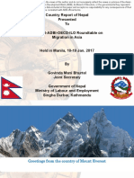 Nepal Country Presentation