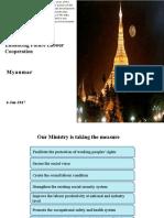 Myanmar Country Presentation