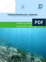 Watering Biodiversity, Ecosystem Print