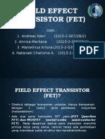Field Effect Transistor (FET)-1