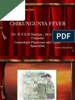 Chikungunya by Dr Sarma