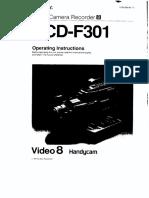 Sony CCDF301 En