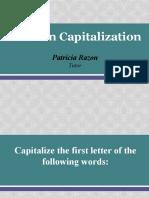 Rules in Capitalization