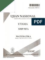 UJIAN NASIONAL 2015 PAKET 394.pdf